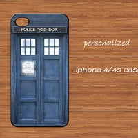 TARDIS Doctor Who iPhone 4 CaseTardis Dr Who iPhone 4 by TimeGrid