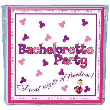 Bachelorette Party Napkinstrivia Game  Pack Of 10