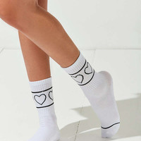 Out From Under Ribbed Icon Sporty Sock | Urban Outfitters