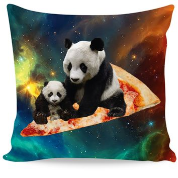 ROCP Space Pizza Panda Couch Pillow