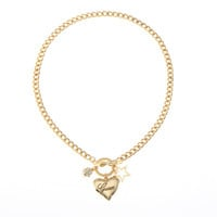 Shiny Stylish Gift New Arrival Jewelry Alloy Simple Design Necklace [8573752909]