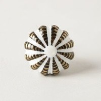 Garnish Knob by Anthropologie White One Size Knobs