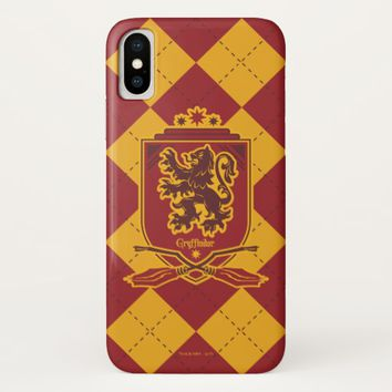 Harry Potter | Gryffindor QUIDDITCH™ Crest iPhone X Case