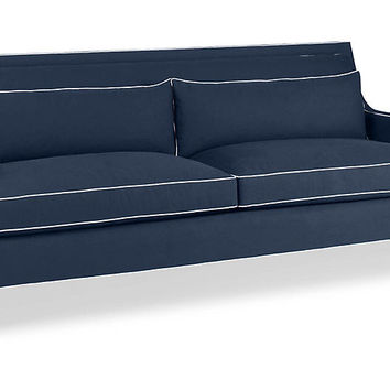 Norwich Sofa, Indigo - kate spade new york - Brands | One Kings Lane