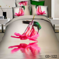 Beautiful Green Hummingbird 3D Bedding Sets *** New ***