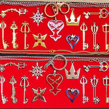 Kingdom Hearts II keyblade necklace collections