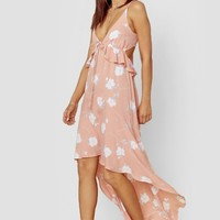 Joli Maxi Dress - Bright Peach
