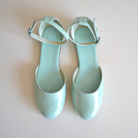 Vita color block open sandal/ballet flats (Handmade to order)
