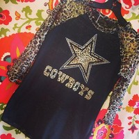 Dallas cowboys, cowboys, Dallas cowboy's shirts, shirts, raglan, cheetah raglans, Dallas shirts, Dallas, Texas, wholesale shirts, wholesale clothing, clothing, frogstones, frogstones and more, Huffman::frogstones