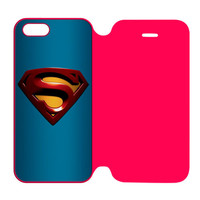 Superman Logo iPhone 5 | 5S Flip Case Cover