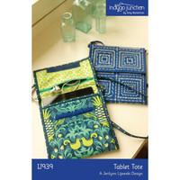Tablet Tote Pattern, Indygo Junction, craft supply