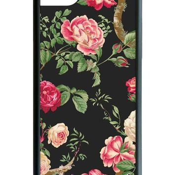 Black Floral iPhone 6/7/8 Case