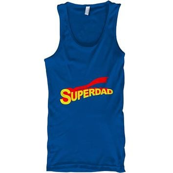 Super Dad Hero Father's Day Tank Top