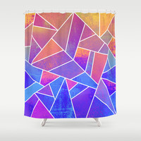 Summer Magic Shower Curtain by Elisabeth Fredriksson