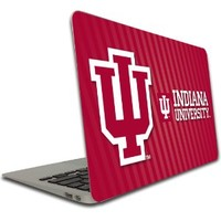 Indiana University - Macbook Air (11 inch) Vinyl, Removable Skin - IU Stripe Background