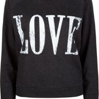 Amazon.com: FULL TILT Love Lace Womens Sweatshirt: Clothing