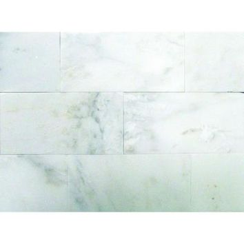 MS International Greecian White 3 in. x 6 in. Polished Marble Floor and Wall Tile (1 sq. ft./case)-THDW1-T-GRE-3x6 at The Home Depot