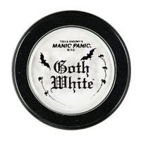 "Manic Panic ""Goth White"" Powder Cream Foundation"