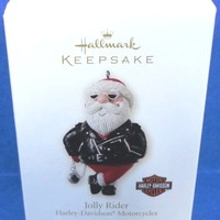 2008 Jolly Rider Hallmark Retired Ornament
