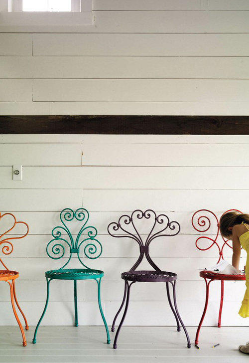 garden chairs from anthropologie | the style files