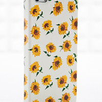 Sunflower iPhone 4/5 Case in White - Urban Outfitters