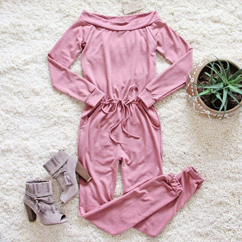 The Cozy Sweatshirt Jumpsuit