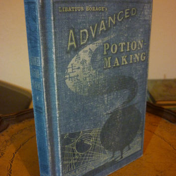 ADVANCED POTION MAKING..Blank notebook, Harry potter