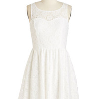 Short Length Sleeveless A-line Jaunty Jive Dress