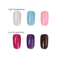 BMC 3pc Thermal Heat Color Changing Nail Lacquers Gel Polish Master Set - Beneath It All Collection