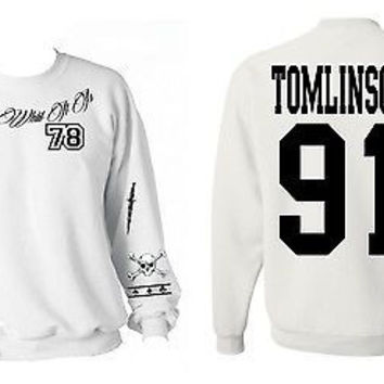 One Direction LOUIS TOMLINSON 91 Tattoo Sweatshirt