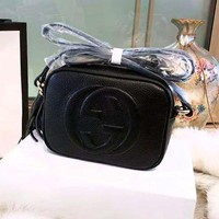 GUCCI Tide brand classic small square bag camera bag wild female models tassel shoulder diagonal package