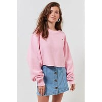 Champion & UO Crew-Neck Cropped Sweatshirt