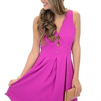 Serena Scalloped Dress :: NEW ARRIVALS :: The Blue Door Boutique