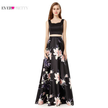 Evening Party Prom Dress Ever Pretty EP08969 New Arrival A Line Halter Sleeveless Women Sexy Long Unique Design Back Dress 2017