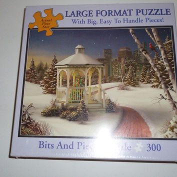 Christmas In The City 300 Piece Jigsaw Puzzle
