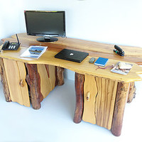 Rustic Writing Desk Bureau