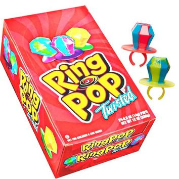 Ring Pop Twisted Cream Flavors ( 2 Pack )