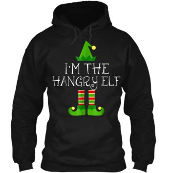 I am The Hangry Elf Matching Family Group Christmas  Pullover Hoodie 8 oz
