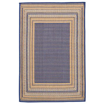 Trans Ocean Terrace Etched Border Area Rug