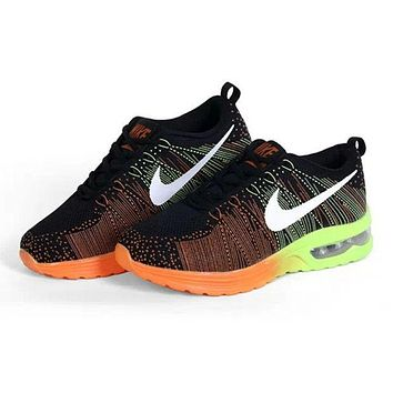 """""""Nike"""" Fashion Breathable Cushioning Sneakers Sport Shoes Black"""