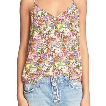 Equipment 'Layla' Floral Print Silk Camisole | Nordstrom