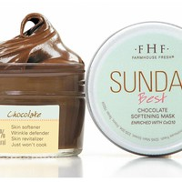 Sundae Best Chocolate Softening Mask with CoQ10 by Farmhouse fresh