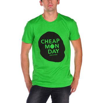 Cheap Monday Cheap Skull Bruce Tee - Green