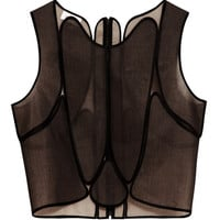 Suspended Patch Top by DELPOZO - Moda Operandi
