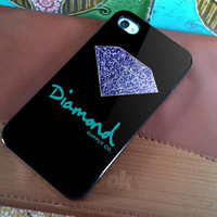 Diamond Supply Co Sparkle - for iPhone 4 case iphone 4S case iPhone 5 Case iphone 4/4s/5 Case Hard Cover