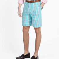 Parrot Plaid Breaker Shorts