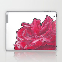 Red Rose 2 Laptop & iPad Skin by drawingsbylam
