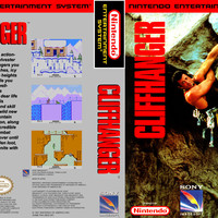 Cliffhanger - Nintendo NES (Ugly Game Only)