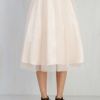 Pointe of View Skirt in Blush