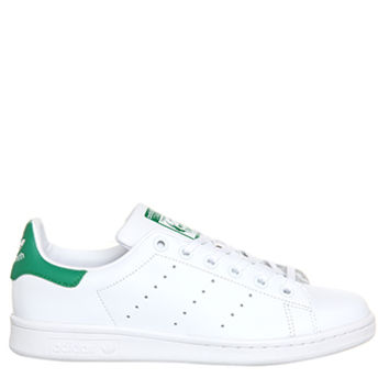 Adidas Stan Smith Core White Green - Kids Trainers